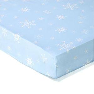 drap housse la reine des neiges achat vente drap. Black Bedroom Furniture Sets. Home Design Ideas