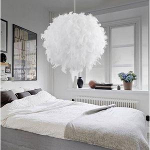 luminaire plume achat vente luminaire plume pas cher les soldes sur cdiscount cdiscount. Black Bedroom Furniture Sets. Home Design Ideas