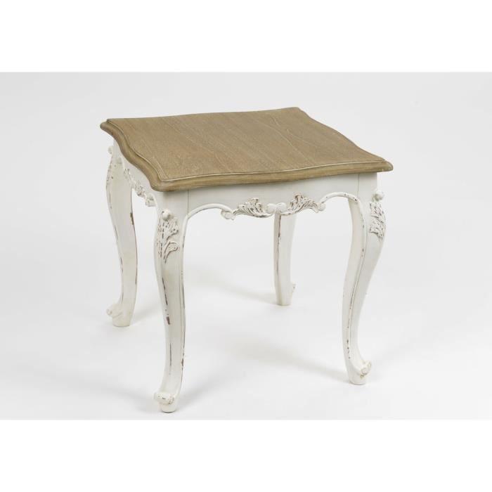 Bout de canap louise amadeus achat vente table d for Table d appoint pour canape
