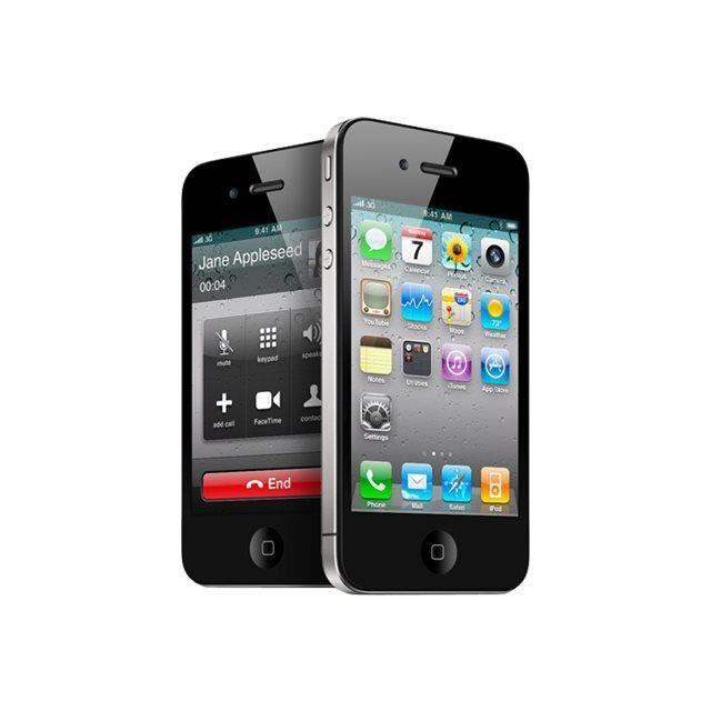 iphone 4 16go noir achat smartphone pas cher avis et. Black Bedroom Furniture Sets. Home Design Ideas