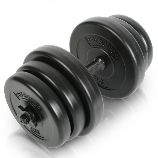 Set d 39 halt res courts 20 kg fitness musculation achat vente halt re - Vente poids musculation ...