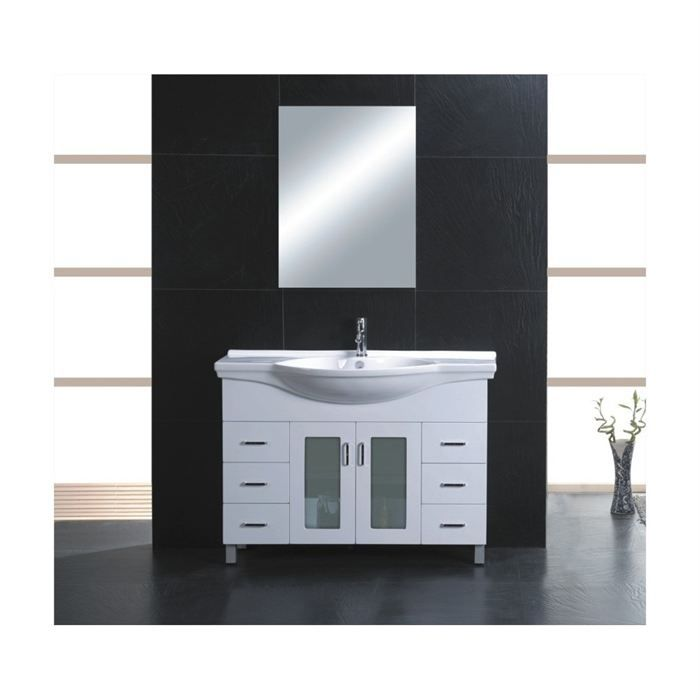 meuble salle de bain lavabo. Black Bedroom Furniture Sets. Home Design Ideas