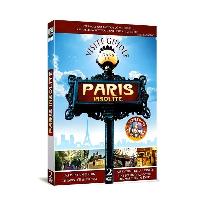 dvd documentaires paris insolite  f auc
