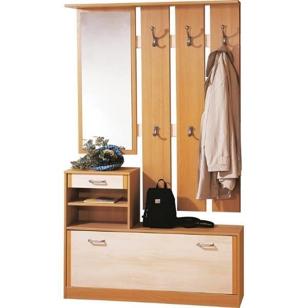 meuble d 39 entr e 0112 h tre bouleau garde robe achat vente meuble chaussures meuble d. Black Bedroom Furniture Sets. Home Design Ideas