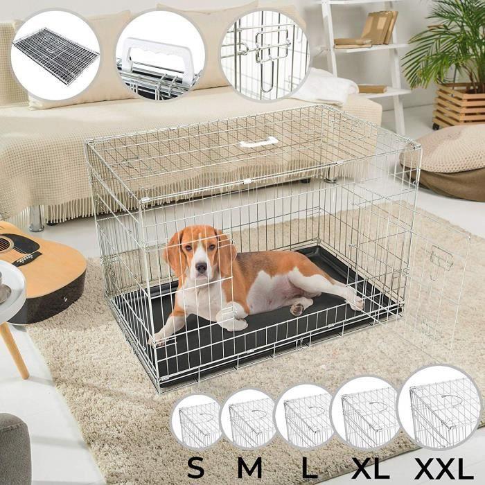 cage de transport pliable pour chien taille m achat. Black Bedroom Furniture Sets. Home Design Ideas