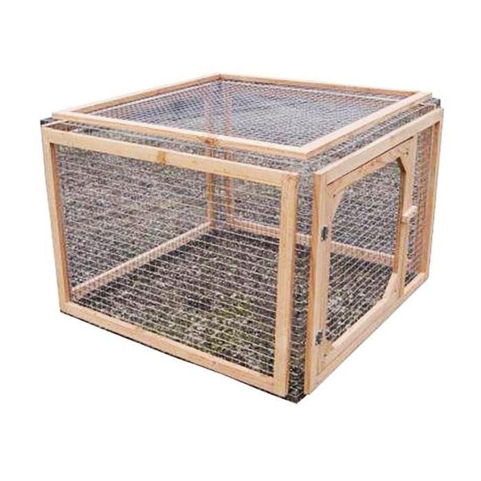 parc anti predateurs pour tortue de terre 60x80 cm achat. Black Bedroom Furniture Sets. Home Design Ideas