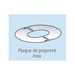 Plaque de propret inox pour pgi poujoulat achat vente for Achat plaque inox