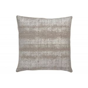 COUSSIN coussin brillant coton argent/gris 45x45cm Argent