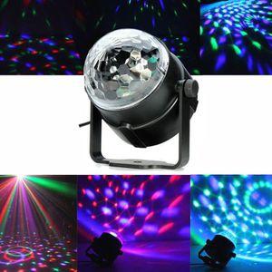 LAMPE ET SPOT DE SCÈNE Lampe de Scène RGB DJ LED Lumière Boule Commande V