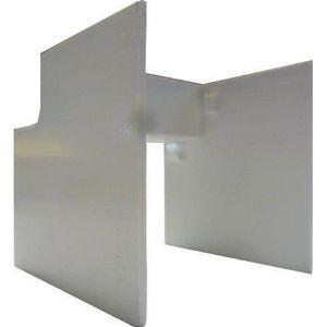 GOULOTTE - CACHE FIL Electraline 660024 Angle intérieur 2 pièces