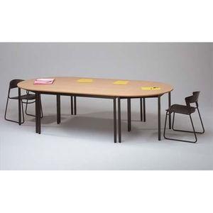 TABLE DE RÉUNION SODEMATUB Table polyvalente demi-rond diamètre …
