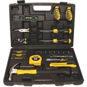 COFFRET CONSOMMABLE STANLEY Coffret outils 65 pièces