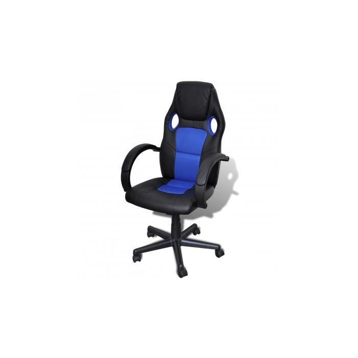 si ge fauteuil de bureau professionnel bleu achat vente fauteuil bleu cdiscount. Black Bedroom Furniture Sets. Home Design Ideas