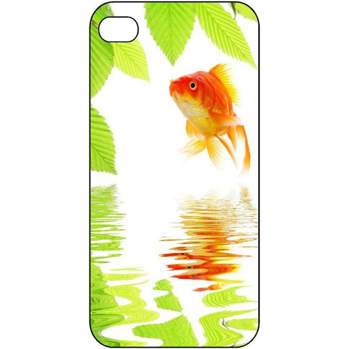 Coque protection iphone 5 poisson rouge 186 achat coque for Poisson rouge achat