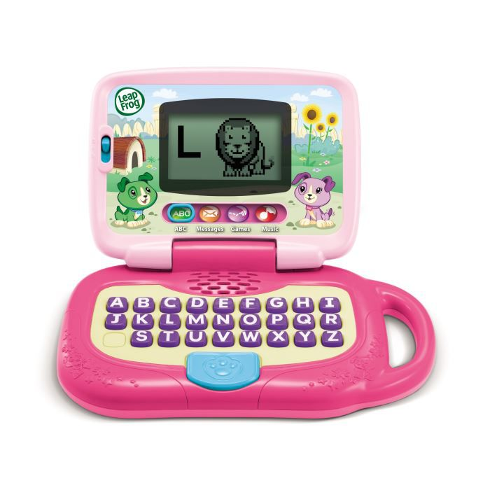 ORDINATEUR ENFANT LEAPFROG  Ordinateur Enfant Leaptop Rose