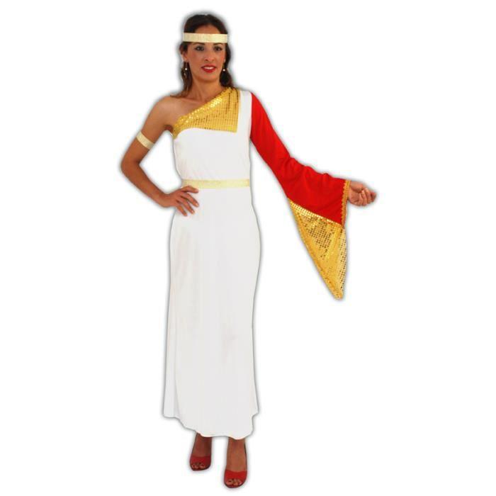 deguisement femme costume noble romaine achat vente d guisement panoplie cdiscount. Black Bedroom Furniture Sets. Home Design Ideas