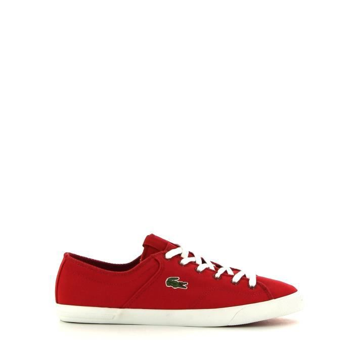 Sneakers Lacoste Rouge