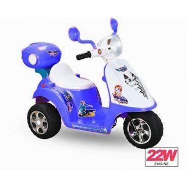 mini scooter lectrique pour enfant bleu achat vente moto scooter cdiscount. Black Bedroom Furniture Sets. Home Design Ideas