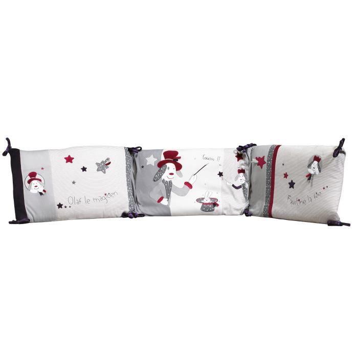 sauthon tour de lit olaf et faustine 120x60 140x70 achat vente tour de lit b b. Black Bedroom Furniture Sets. Home Design Ideas