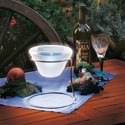 lampe de table solaire design achat vente lampe de table solaire design acier inoxydable. Black Bedroom Furniture Sets. Home Design Ideas
