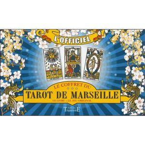LIVRE PARANORMAL Le coffret du Tarot de Marseille