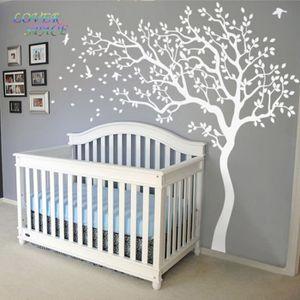 stickers arbre blanc achat vente stickers arbre blanc pas cher les soldes sur cdiscount. Black Bedroom Furniture Sets. Home Design Ideas