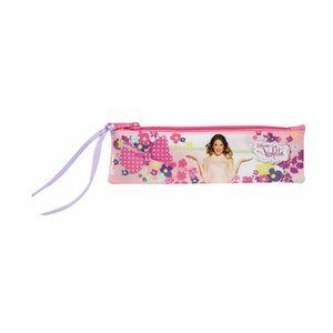 TROUSSE À STYLO Disney Violetta  - Petite Trousse plate Flowers