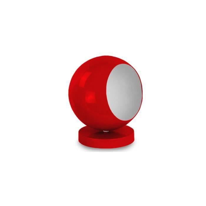 Lampe de chevet boule achat vente lampe de chevet boule m tal cdiscount - Lampe de chevet contemporaine ...