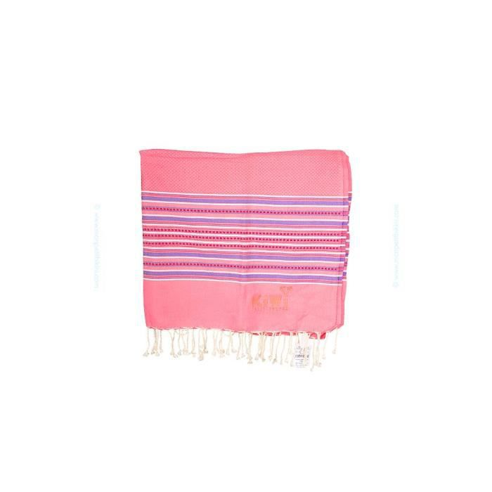 fouta kiwi st tropez drap de plage rose pastel achat. Black Bedroom Furniture Sets. Home Design Ideas