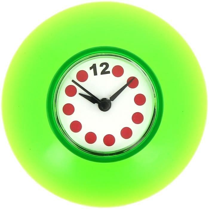 Horloge salle de bain 15 horloge horloge salle de bain - Fixation miroir salle de bain ...