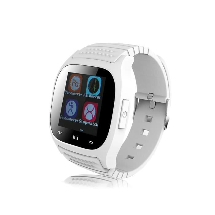 vococal montre connectee bluetooth 3 0 tanche pour android syst me samsung galaxy s5 s6 lg. Black Bedroom Furniture Sets. Home Design Ideas