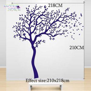 stickers muraux arbre blanc enfant achat vente