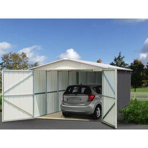 Achat garages abris et garages jardin maison et jardin discount page 1 - Garage metal castorama ...