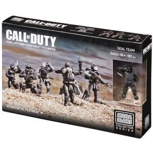 ASSEMBLAGE CONSTRUCTION CALL OF DUTY Pack Equipe Seal