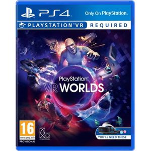 JEU PS VR VR Worlds VR