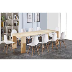 CONSOLE EXTENSIBLE ZACK Table console extensible de 8 à 10 personnes
