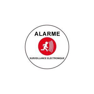 Autocollant alarme achat vente autocollant alarme pas for Alarme maison pas cher