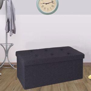 banc de rangement achat vente banc de rangement pas cher les soldes sur cdiscount cdiscount. Black Bedroom Furniture Sets. Home Design Ideas