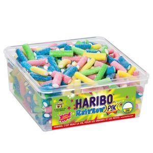 CONFISERIE DE SUCRE HARIBO Bac 250 Rainbow Pik