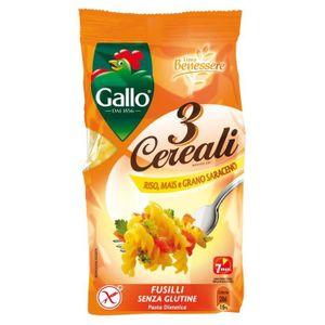 PÂTES ALIMENTAIRES RISO GALLO Fusilli Sans Gluten 250G