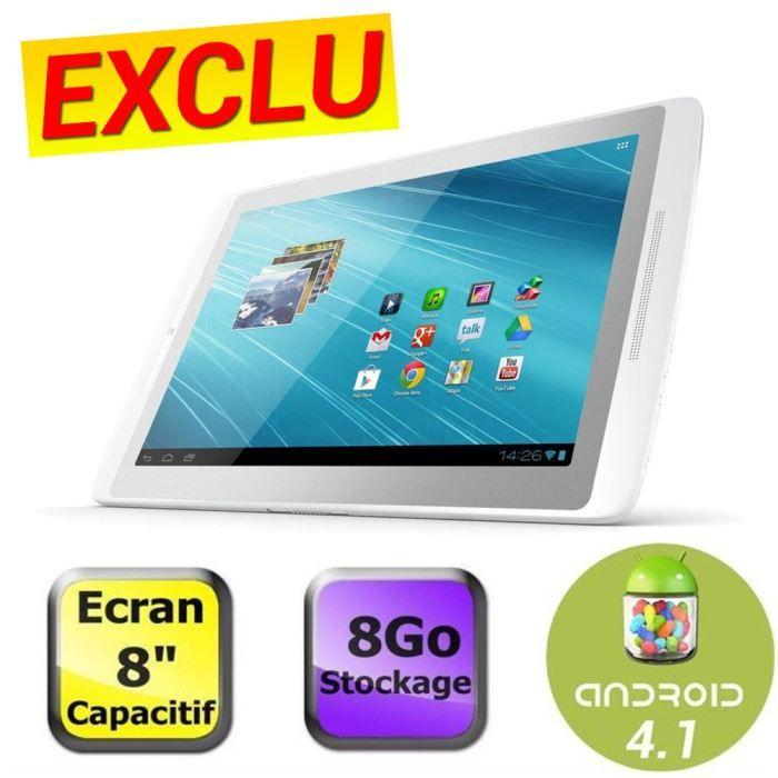 informatique tablettes tactiles ebooks archos  xs go f