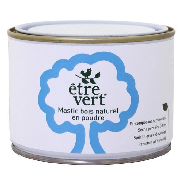 Mastic naturel pour bois en poudre 500g achat vente for Mastic bois exterieur