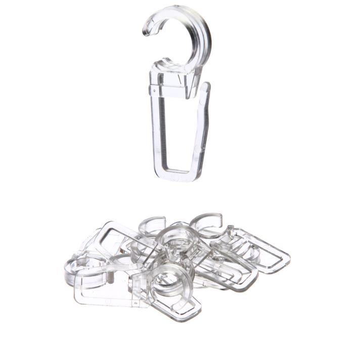 10 agrafes pour anneaux rideaux achat vente agrafe cdiscount. Black Bedroom Furniture Sets. Home Design Ideas