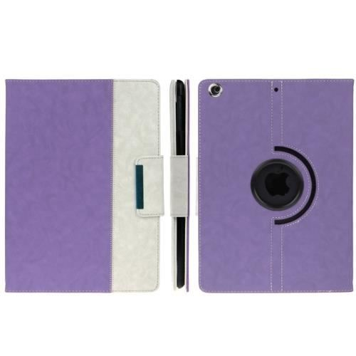 Ipad 5 air coque housse de protection cuir pu blanc for Housse protection ipad 2