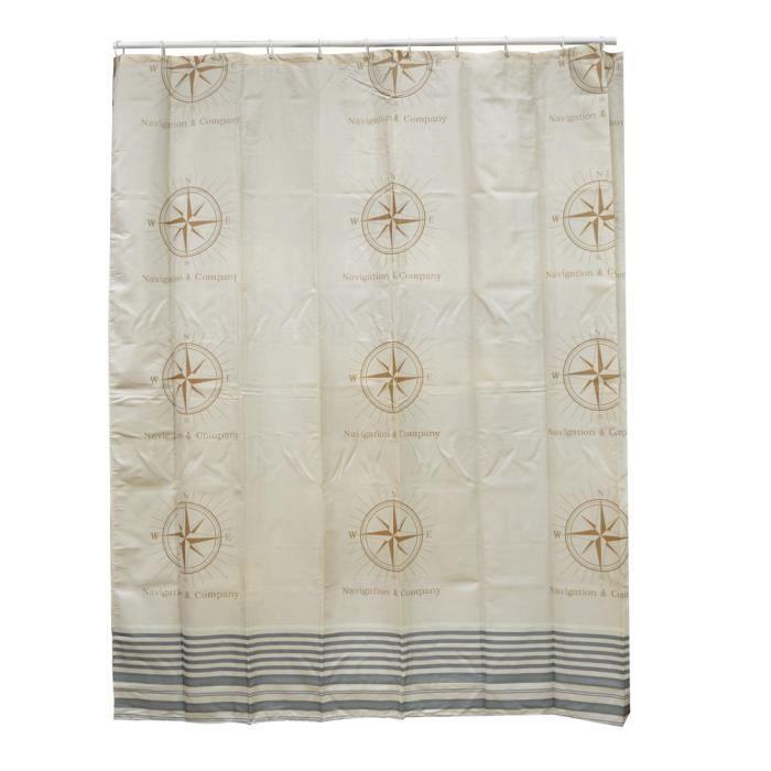 rideau de douche textile navigation achat vente rideau. Black Bedroom Furniture Sets. Home Design Ideas