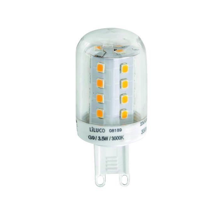 leuchten direkt liluco 08189 led g9 3 5 watt achat vente ampoule led cdiscount. Black Bedroom Furniture Sets. Home Design Ideas
