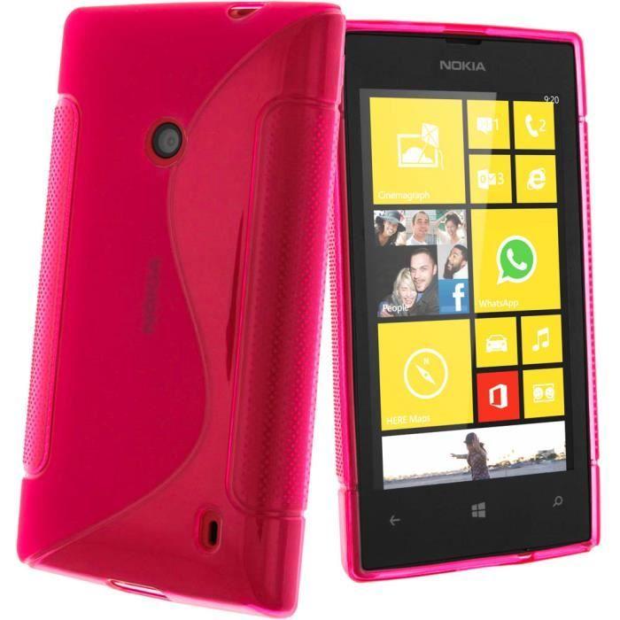 Silicon Nokia Lumia 520 Nokia Lumia 520 et 525