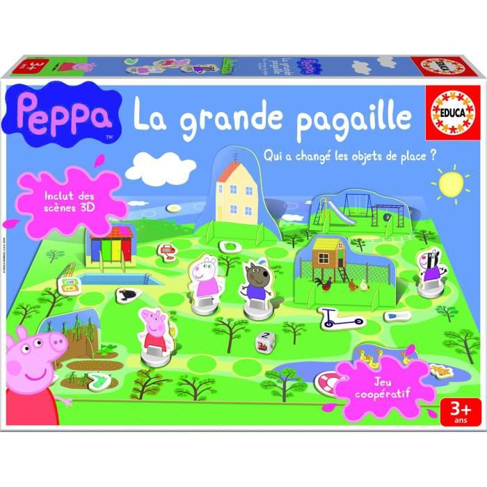 peppa pig jeux de soci t la grande pagaille achat vente jeu soci t plateau cdiscount. Black Bedroom Furniture Sets. Home Design Ideas