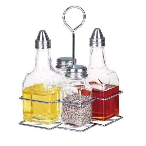 Ensemble huile vinaigre sel et poivre avec s achat vente beurrier huilier soldes d - Huile et vinaigre ...