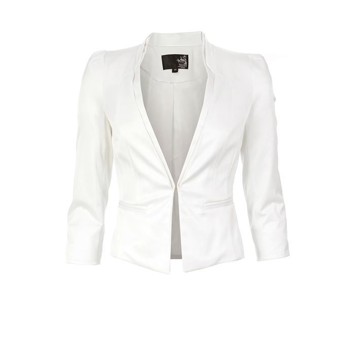Petite veste blanche femme